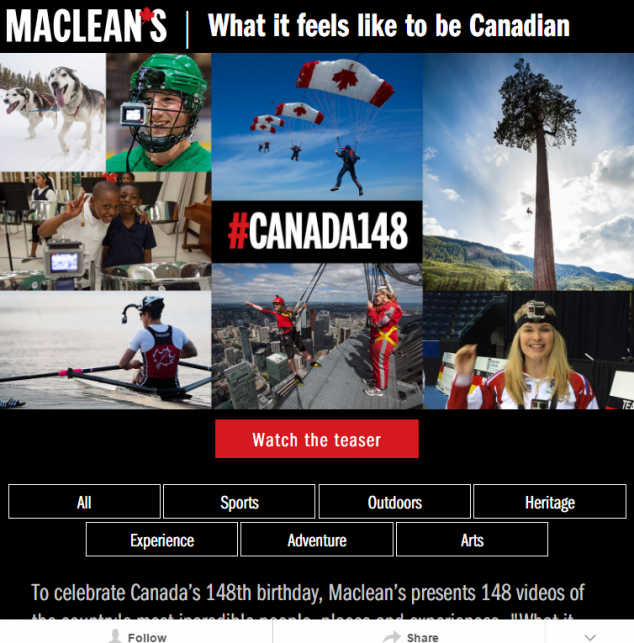 What it feels like to be Canadian Macleans.ca tab01